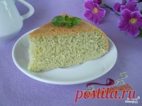 Быстрый бисквит - пошаговый кулинарный рецепт с фото на Повар.ру