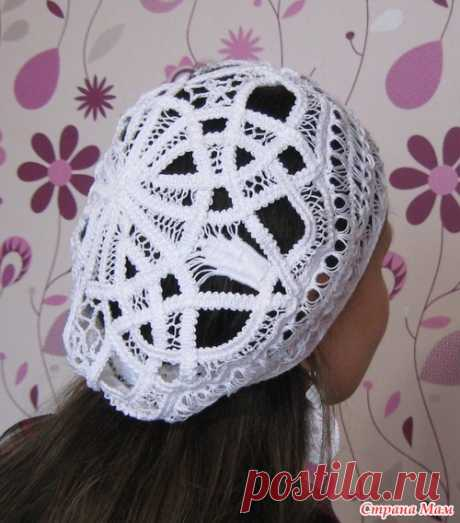 In the wake of a beret - shnurkovy lace