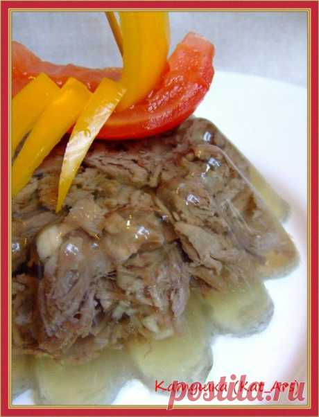 Jelly from beef portion