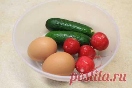 Три самых простых салата с огурцом за 10 минут. Съедаются мигом! | Блоги о даче и огороде, рецептах, красоте и правильном питании, рыбалке, ремонте и интерьере