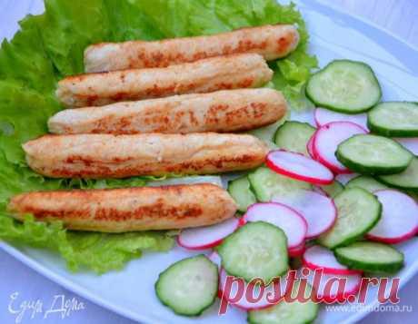 Домашние куриные сосиски, пошаговый рецепт на 1584 ккал, фото, ингредиенты - Альбина Кузнецова