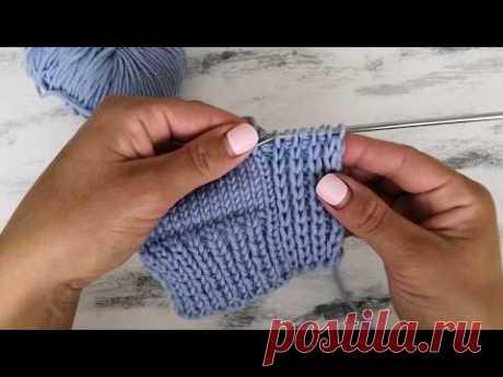 Вязание планки для кардигана, кофты, жакета, платья + Планка платочной вязкой, не стягивающая край изделия. (Вязальные советы)