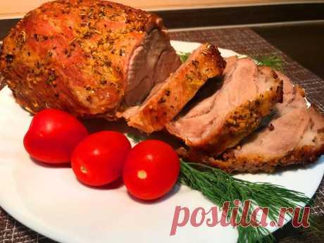 Рецепт потрясающе вкусного запеченного мяса к празднику, для тех кто работает 31 декабря | Готовим дома с Натальей Фишевой. | Яндекс Дзен