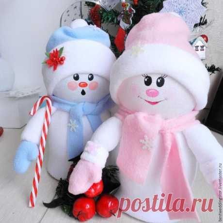 We do amusing toys of the SNOWBALL and the SNOWBALL of plastic bottles. - record of the user hope Nikolaevna (Nadezhda) in community New year in category New Year's gifts, hand-made articles and suits