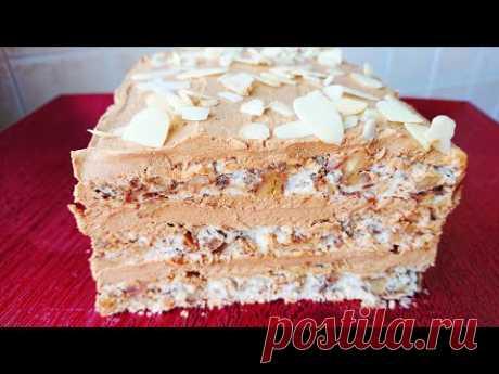 Без Муки! Очень вкусный Торт на праздничный Стол.