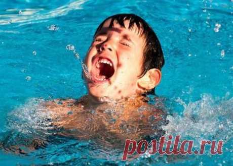 Основные правила детской безопасности на воде / Малютка