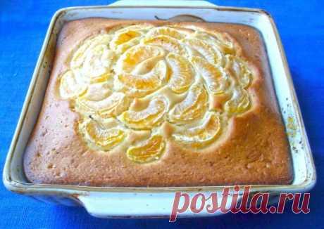 (3) Шарлотка с мандаринами - пошаговый рецепт с фото. Автор рецепта Людмила . - Cookpad
