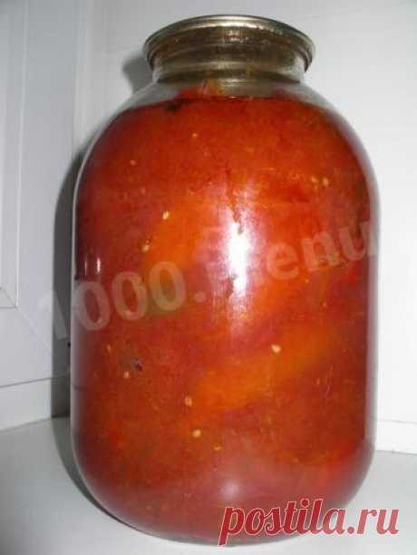 Заготовка для фаршированных перцев на зиму рецепт с фото - 1000.menu