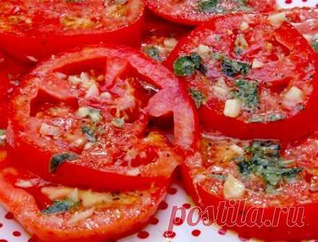 Маринованные помидоры по-итальянски за 30 минут — Готовим дома