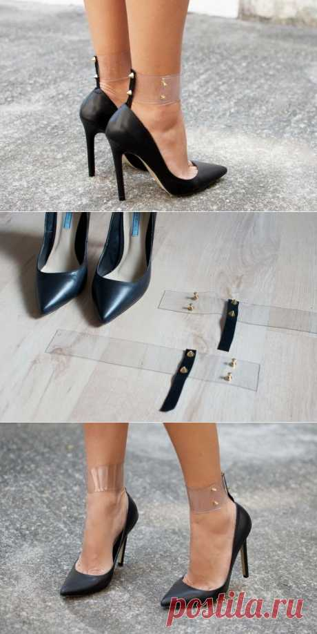 Кожа, шипы и пластик DIY / Обувь / Модный сайт о стильной переделке одежды и интерьера