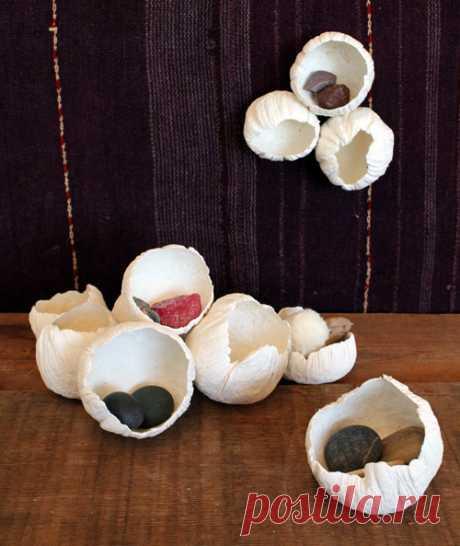 Diy project: бумажные глина barnacles - Дизайн * Губка