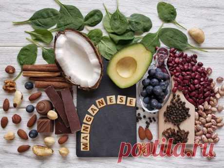 Чем важен марганец для организма / Будьте здоровы
