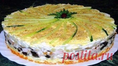 Салат торт № 1 в мире. Салат, который займет главное место на любом столе