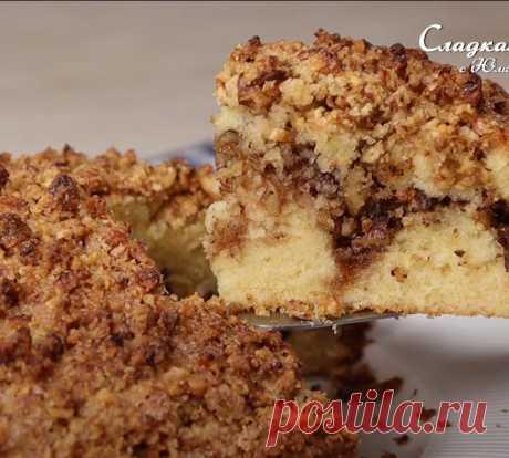 Турецкий ореховый пирог - Рецепты Simple Food
