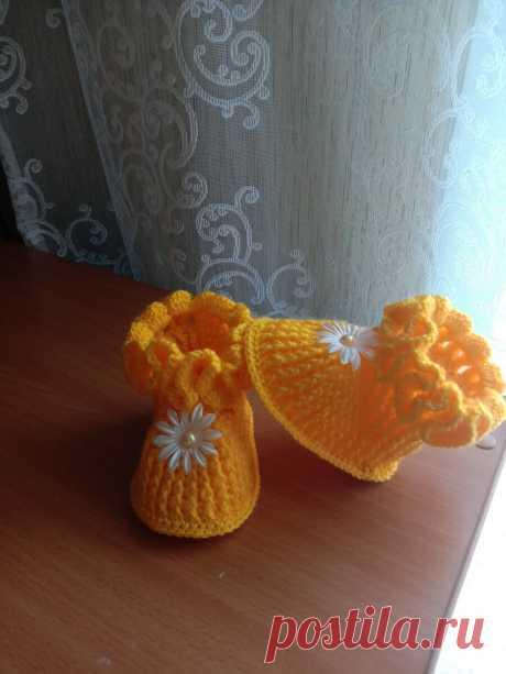 Пинеточки своими руками | Вязание для детей | Яндекс Дзен