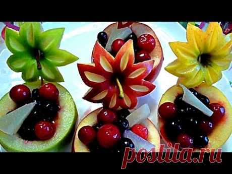 8 LAYFHAKOV AS it is BEAUTIFUL to CUT APPLES! AS it is BEAUTIFUL to ISSUE the TABLE! Jewelry from fruit