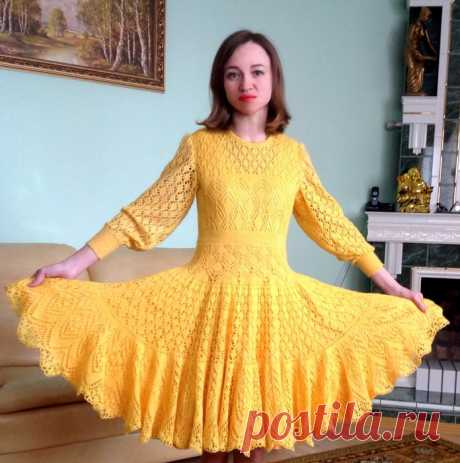 ШАЛЬное платье