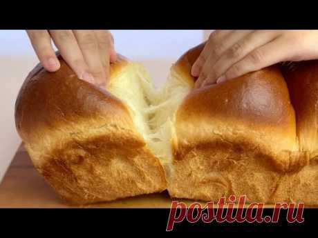 How to make SUPER Fluffy Butter Bread ⎮ Сливочный хлеб