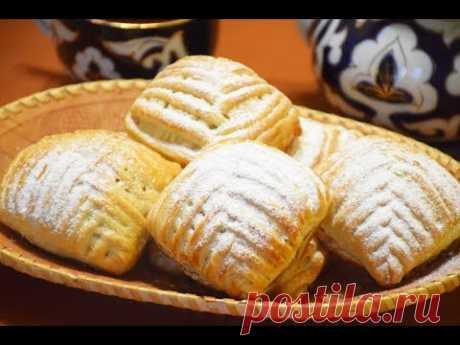 Турецкие пирожные ✧ Плетенки с яблоками и корицей
