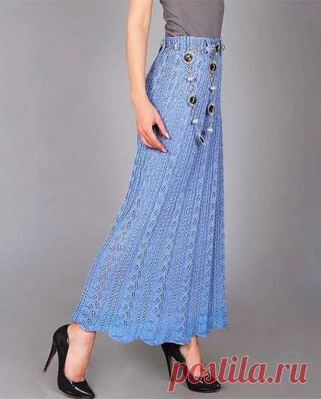 Красивая ажурная юбка