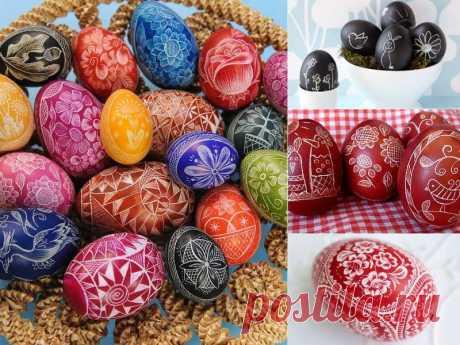 10 необычных способов украсить пасхальные яйца | Тысяча и одна идея