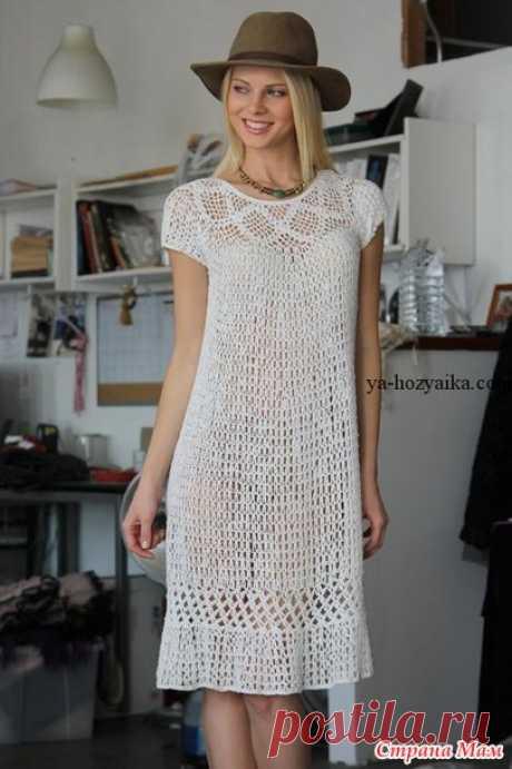 Платье в стиле Бохо - Все в ажуре... (вязание крючком) - Страна Мам