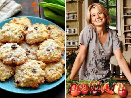 Овсяное печенье по рецепту Юлии Высоцкой