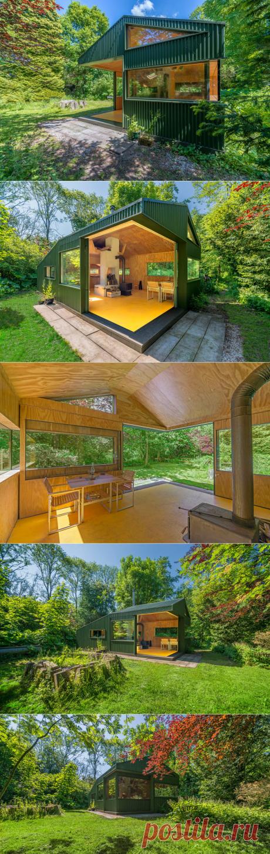 Очаровательный домик посреди парка в Нидерландах — Роскошь и уют