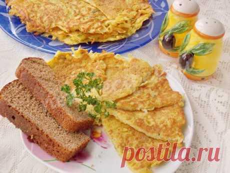 Тёртая картошка с яйцом — быстрый и вкусный завтрак!