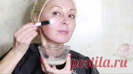 Mask with the strongest effect of Botox from 2 ingredients