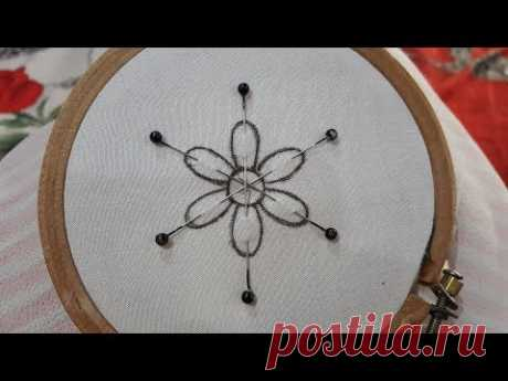 Beautiful Amazing Trick Embroidery Flower Design #100 - YouTube