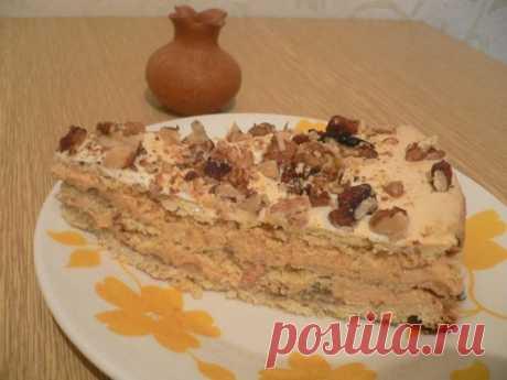 """Любимый торт """"А-ля по-киевски"""" - вкусный, недорогой и простой в приготовлении"""