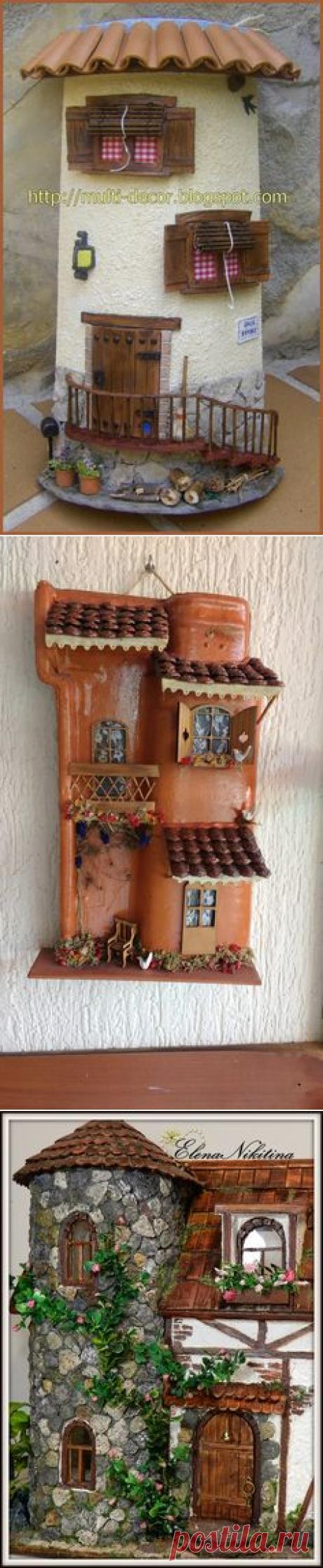 Light House   Lil'l Houses - Craft   Madeira, Artesanato and Lights