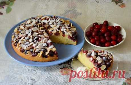 Венский пирог с начинкой вишней рецепт с фото пошагово - 1000.menu