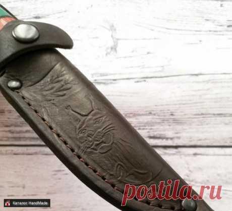 ⭐Нож Осетр-1 кованая сталь 95х18 купить в Беларуси HandMade, цены в интернет магазинах