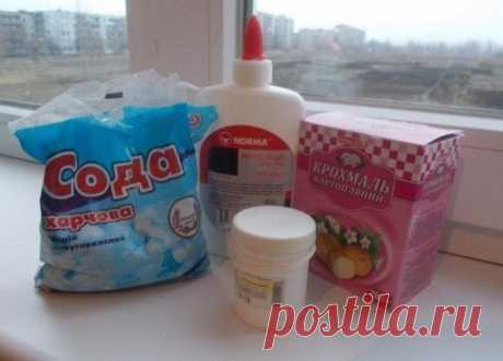 Мастер-класс, рецепт холодного фарфора (ХФ)
