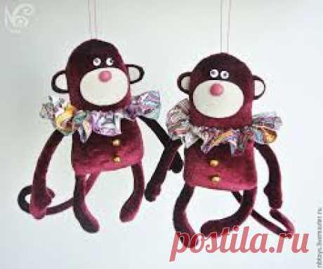 брелок текстильный обезьянка - Αναζήτηση Google