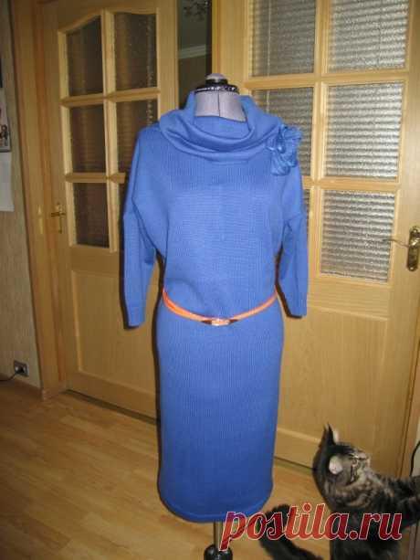 Платье васильковое от kumbita с Осинки