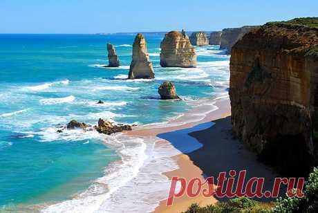 . Двенадцать апостолов, Австралия.