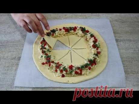 Даже кушать жалко, а всего то нужна картошка и немного муки! Потрясающий Пирог из простых продуктов!