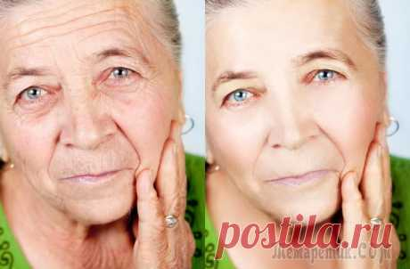 Top-10 masks from wrinkles after 50 years