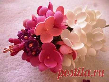 Мастер-класс по изготовлению орхидеи из фоамирана - Ярмарка Мастеров - ручная работа, handmade