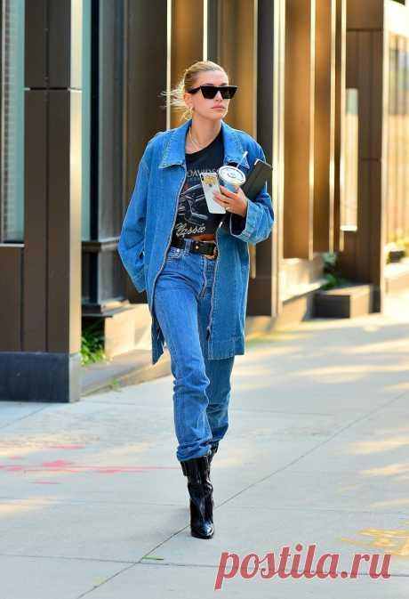Канадский смокинг: учимся носить джинсовые куртки, как звезды - Мода - Леди Mail.ru
