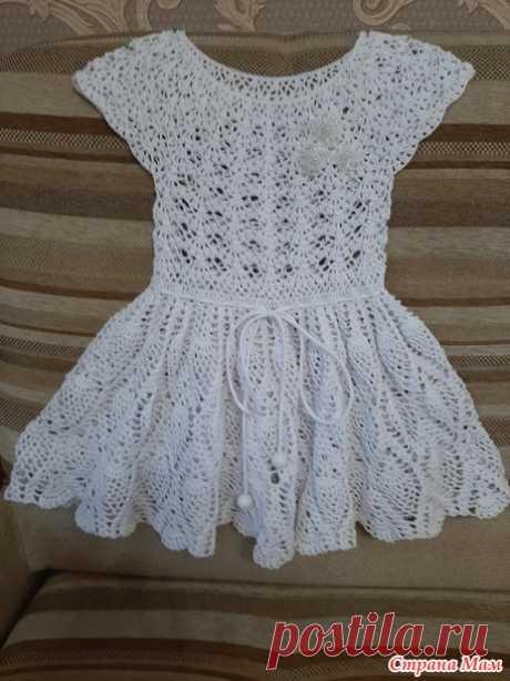 Два летних платьица для девочки. - Вязание - Страна Мам