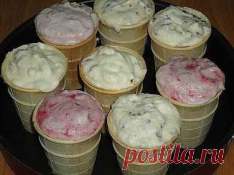 Домашнее мороженое, вкус советского пломбира.  Ингредиенты:  Сахар – 2 стакана Показать полностью…