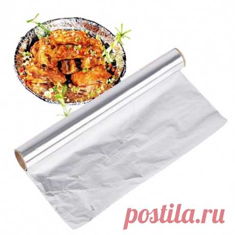 Пищевая фольга на кухне