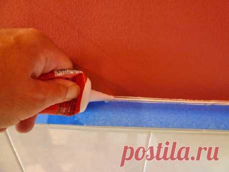 Как я заделал щель между стеной и ванной... Не повторяй моих ошибок!