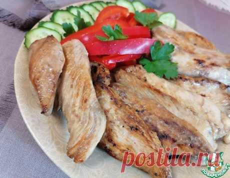 Куриное филе - экспресс-вариант - в соевом соусе и имбире