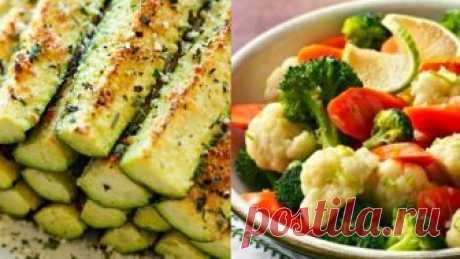 12 platos de clase, que se puede preparar hortalizas. ¡Se ha saneado y ha adelgazado de todo en una semana!