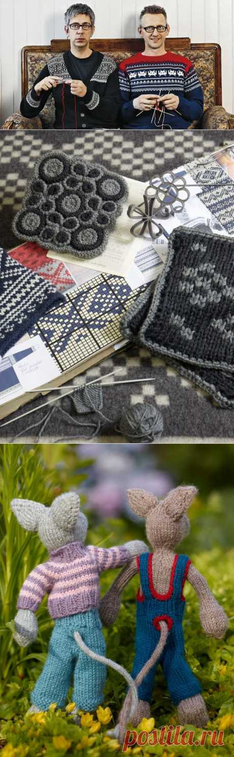 Традиции норвежского вязания.